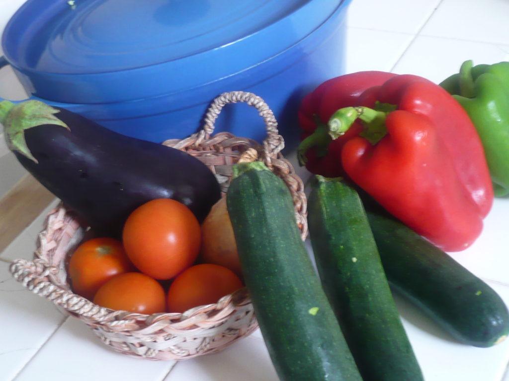 南仏の新鮮な野菜たち