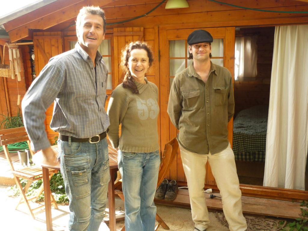 ピエールさんとアンさん夫妻と研修生