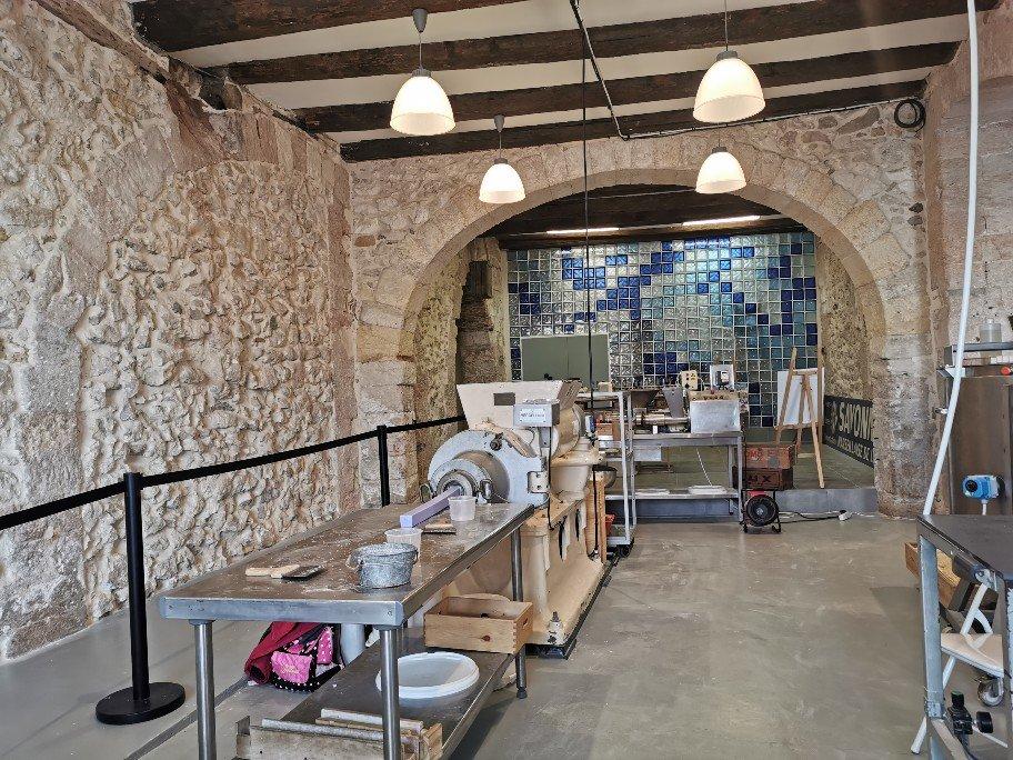 マルセイユ石鹸博物館に併設された石鹸作りの工房